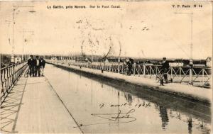 CPA Le Guetin pres Nevers Sur le Pont Canal (613092)