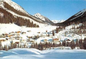 Namlos Lechtal Tirol Winter Gesamtansicht