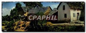 Old Postcard Imerina Typical Village Madagascar