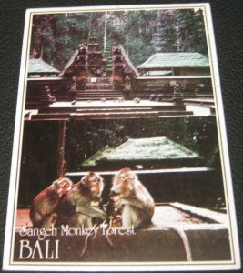 Indonesia Bali Sangeh Monkey Forest - posted 1988