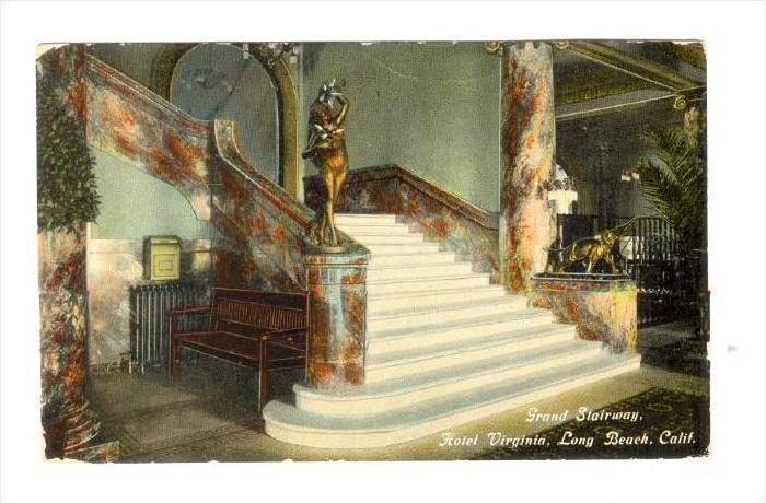 Grand Stairway Hotel Virginia Long Beach California 00 10s
