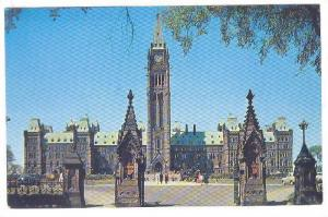 The Canadian Houses of Parliament, Ottawa, Ontario, Canada,  40-60s
