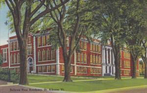 Bellows Free Academy St Albans Vermont