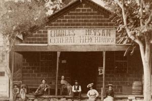 CA - Lone Pine. Meysan Store, circa 1890's  (Reproduction)
