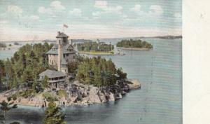 1000 Islands , Ontario , 1905 ; Castle Rest