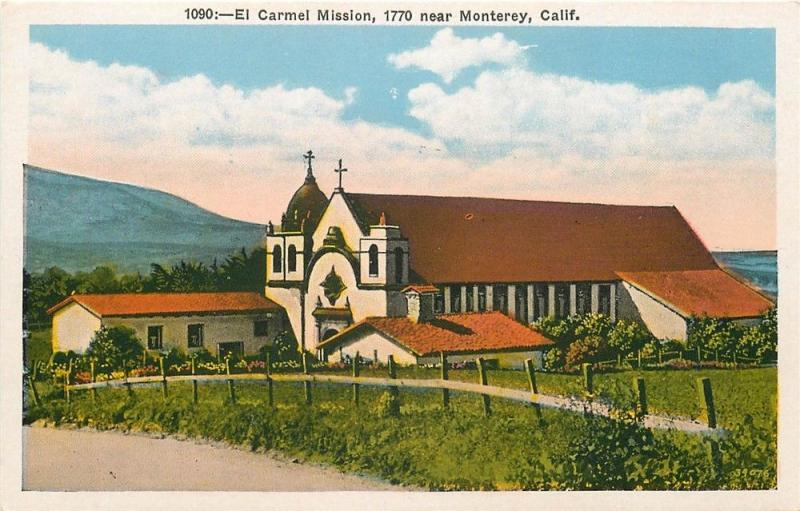 CA, Monterey, California, Carmel Mission, M. Kashower