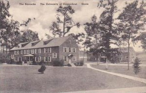 Connecticut Storrs The Barracksl Univ Of Conn Albertype