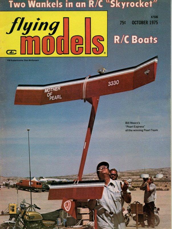 Vintage Flying Models Magazine October 1975