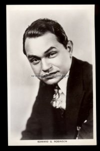 b1614 - Film Actor - Edward G. Robinson - Picturegoer No.658 - postcard