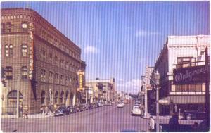 Looking West on Idaho Street in Boise Idaho ID