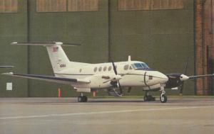 Limited Edition Postcard Beech C12A Huron VIP Aircraft of the USAFE NT213