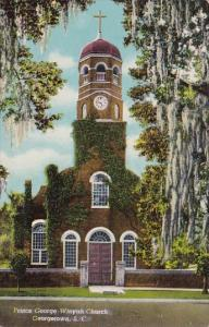 South Carolina Georgtown Prince George Winyah Church