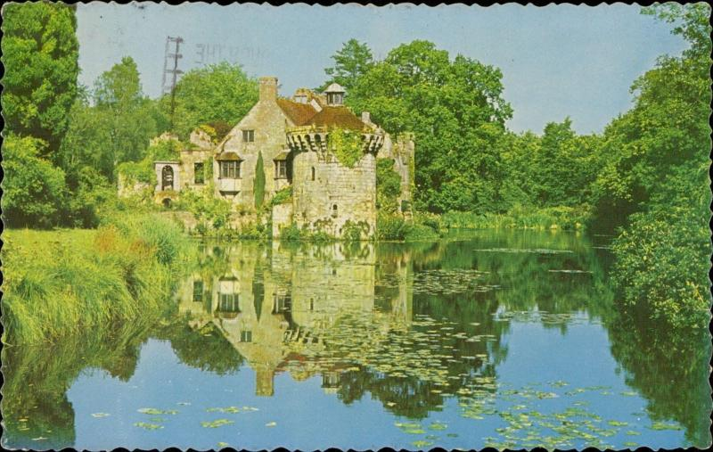 Scotney Castle near Tunbridge Wells Kent water reflection