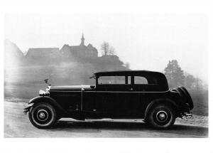 Postcard Carrosserie Reinhold & Christen Basel Switzerland 1933 Classic Car BW14