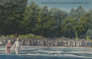 BEULAH BEACH, Ohio, PU-1948; Baptismal Sene at Convention
