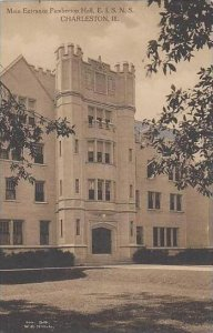 Illinois Charleston Main Entrance Pemberton Hall