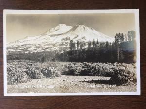RPPC Mount Shasta, California by J.H. Eastman d6