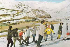Skiing , Mt Hermon, Israel , 50-60s