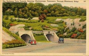 TN - Chattanooga. Missionary Ridge, Bachman Twin Tunnels