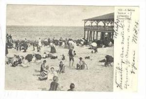 A Bathing Scene At Lillagore's, Ocean Grove, New Jersey, PU-1906