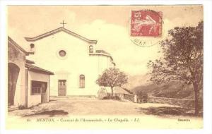 Menton  , Alpes-Maritimes , Provence-Alpes-Côte d´Azur, France , PU-1928  C...