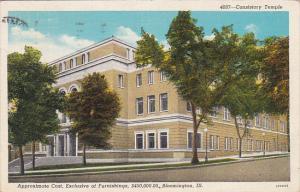 Consistoey Temple, BLOOMINGTON, Illinos, PU-1939