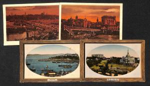 Turkey Istanbul lot 4 vintage postcards