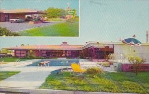 Holiday Inn With Pool Of Pascagoula Mississippi 1963