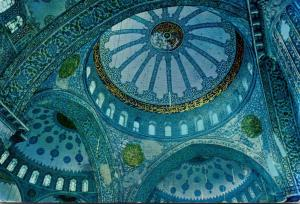 Turkey Istanbul Dome Of The Blue Mosque 1968