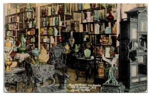 Sing Fat Co. Chinese Oriental Emporium Interior, San Francisco, CA Postcard *5I5