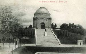 OH - Canton. Memorial of President McKinley