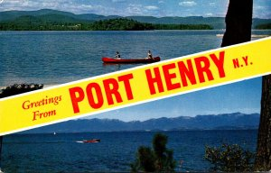 New York Greetings From Port Henry
