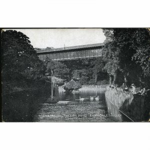 Dennis & Holloway Scarborough Postcard 'Scarborough, The Fish Pond, Ramsdale Val