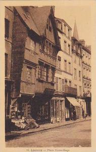 Lisieux (Calvados), France, 1900-1910s : Place Victor-Hugo