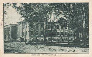WATERLOO , New York , 1910 ; High School
