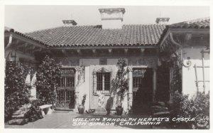 RP: SAN SIMEON , California, 1930-40s ; William Randolf Hearst Castle