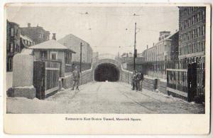 Entrance to Boston Tunnel, Maverick Square