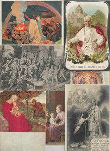 Beautiful Religion Postcard Lot of 20 With The Pope Jesus and more 01.16