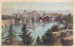 New York Mohonk House From Across The Lake 1933