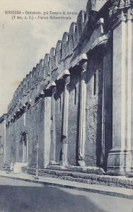 SIRACUSA, Cattedrale, gia Templo di Athena, V sec. a. C., Fianco Settentriona...