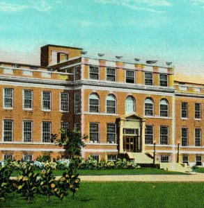 Browning Hospital Du Quoin ILL Illinois Vintage Standard View Postcard