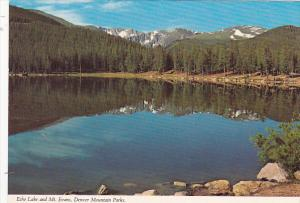 Colorado Echo Lake and Mt Evans