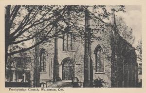 WALKERTON , Ontario , 1910-30s ; Presbyterian Church