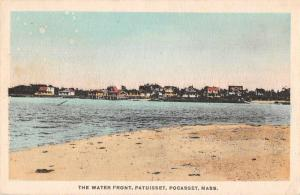 Pocasset Massachusetts Patuisset Waterfront Vintage Postcard J927063
