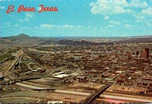 Texas El Paso Aerial View International Bridge
