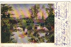 Lily Pond , Como Park , ST. PAUL , Minnesota , PU-1907
