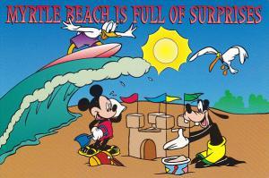 Disney Company Myrtle Beach Is Full Of Surprises