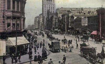 Market St.  San Francisco CA Postal Used Unknown