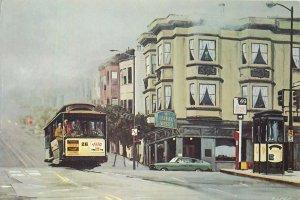 Postcard Hotel Restaurants HORECA Buena vista bar San Francisco