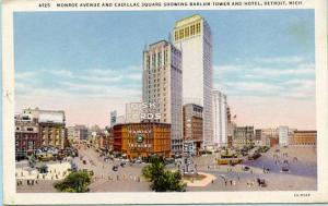 MI - Detroit, Monroe Avenue & Cadillac Square